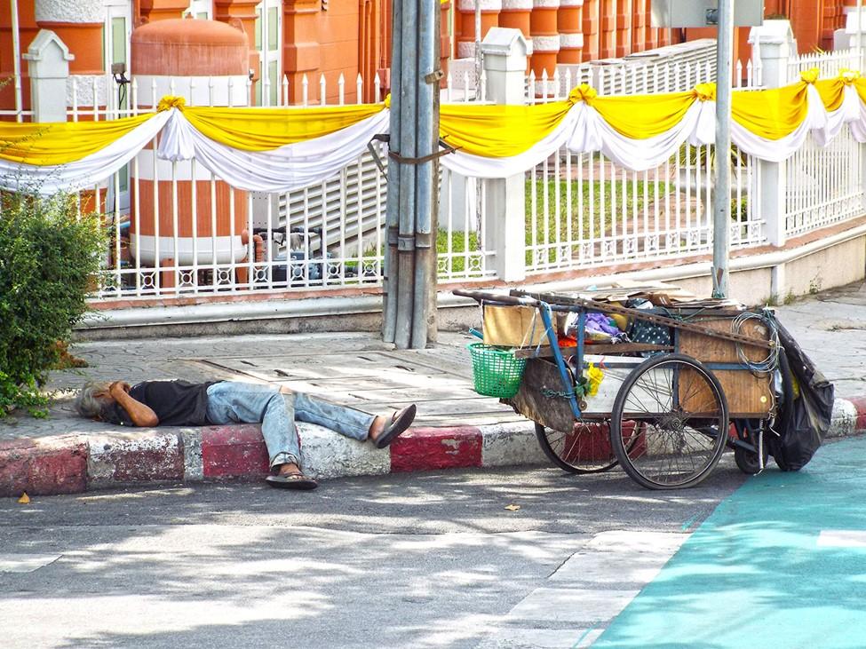 Reality of Bangkok streets