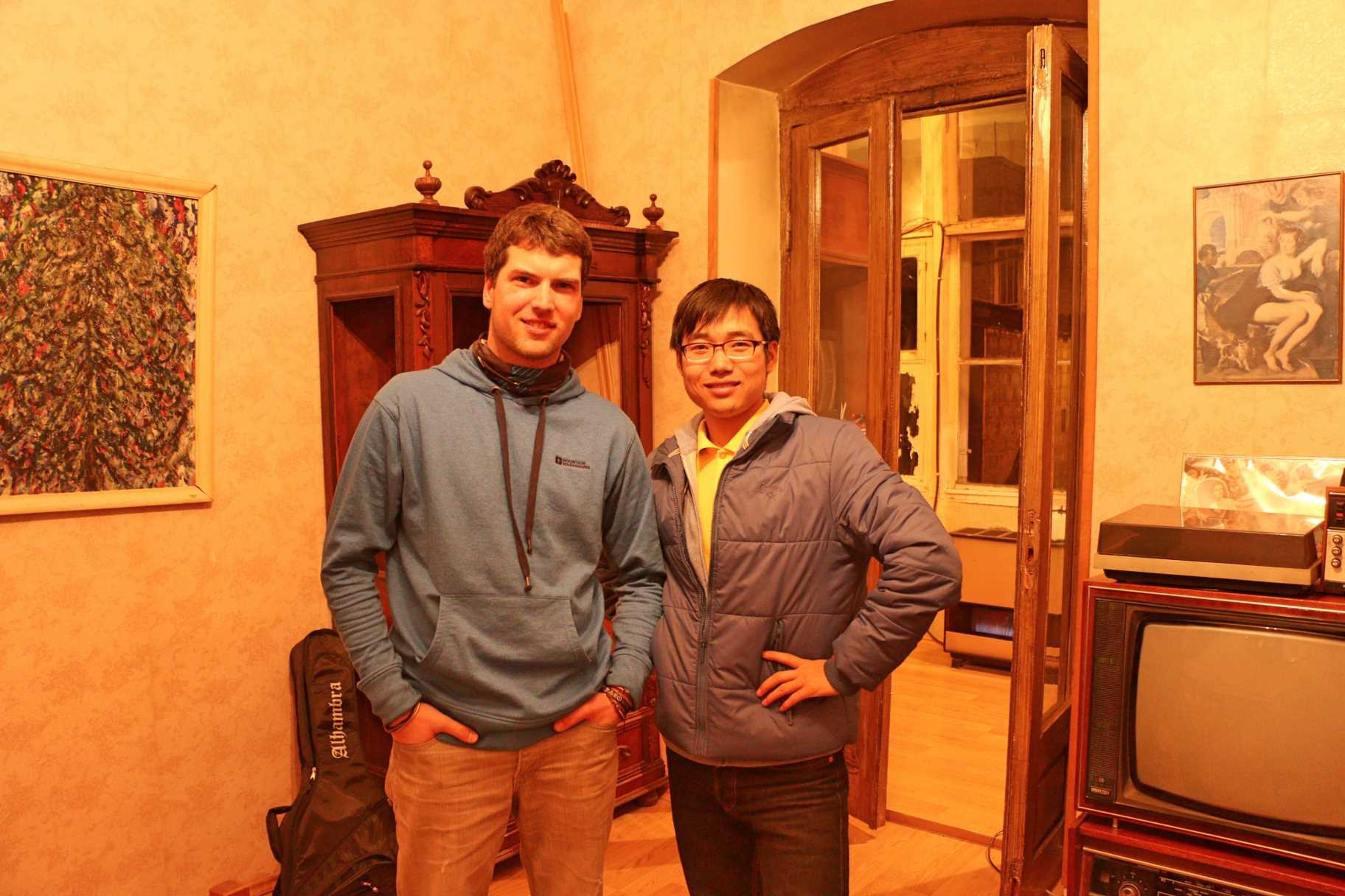 Yanan, Chinese guy living in Tbilisi