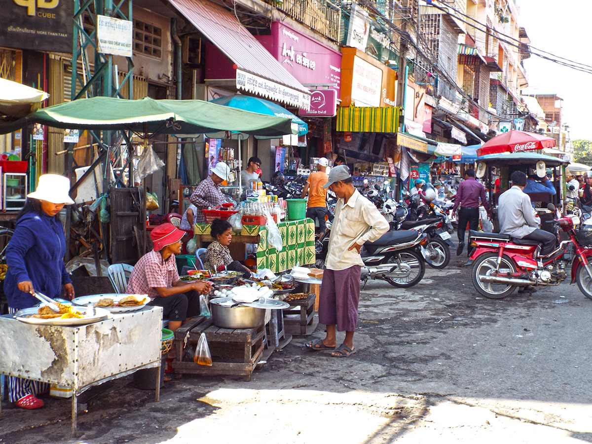 Phnom Penh streets