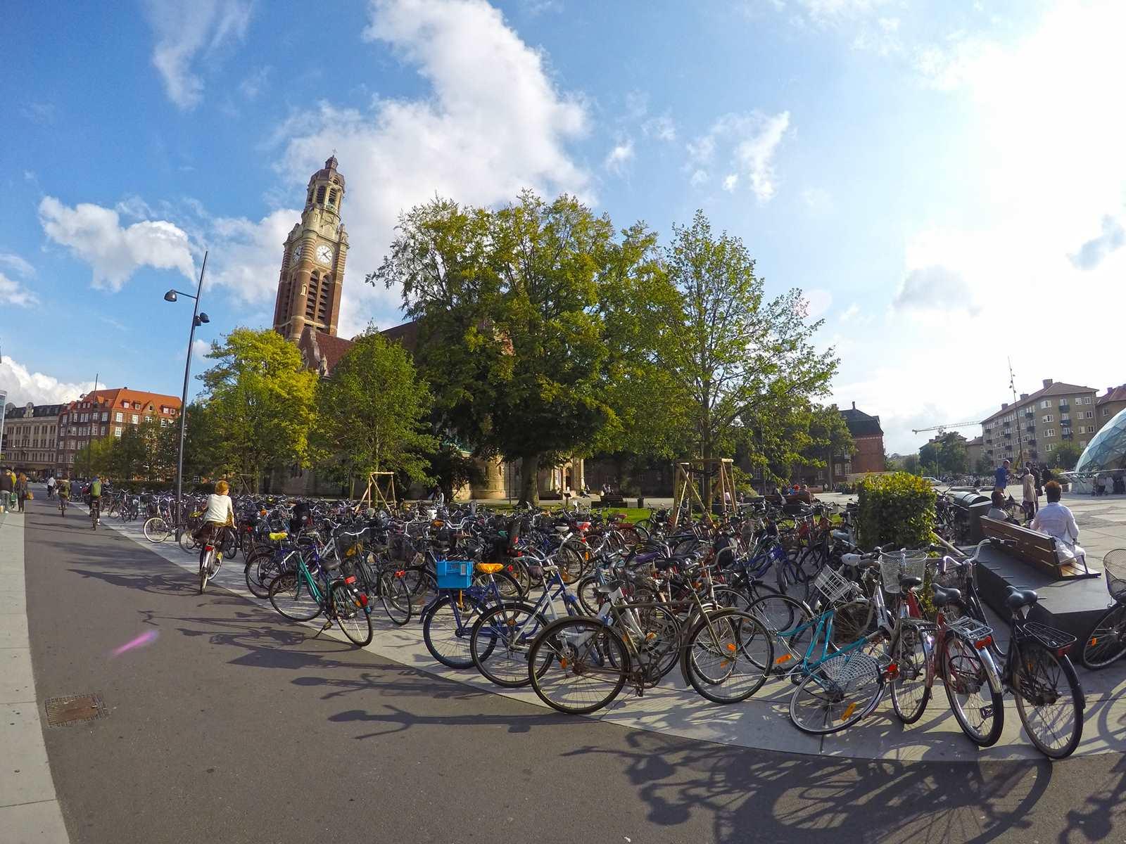 Bike park in Lund