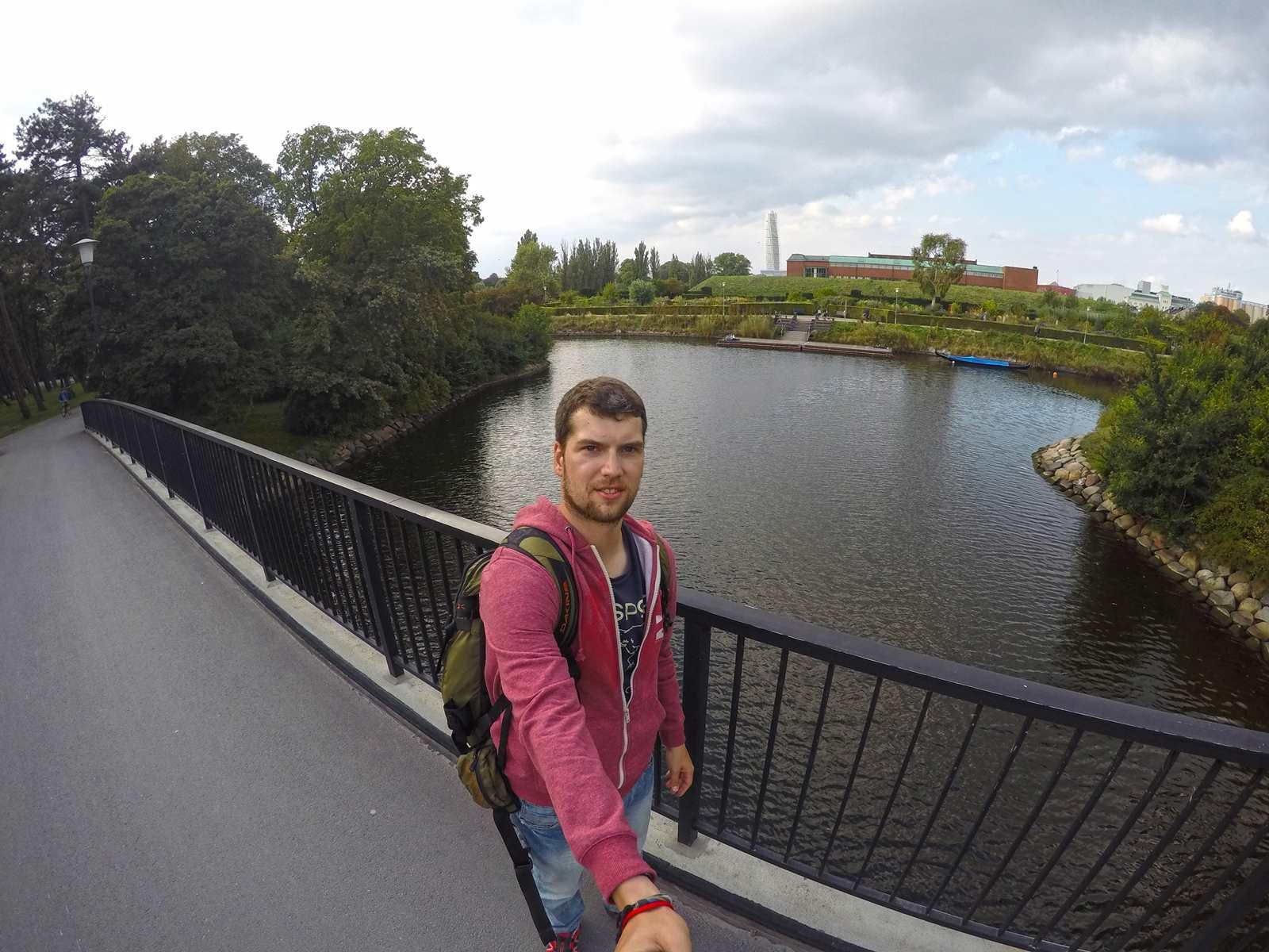 Selfie in Malmo
